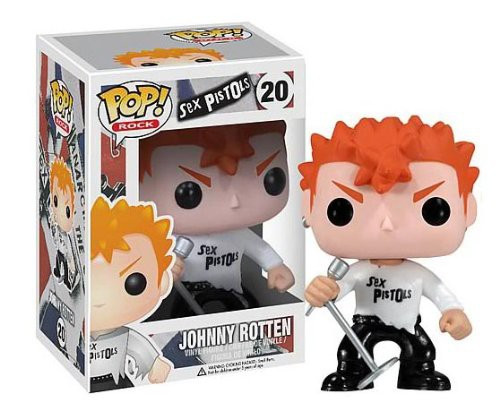 Funko Sex Pistols POP! Rocks Johnny Rotten Vinyl Figure #20