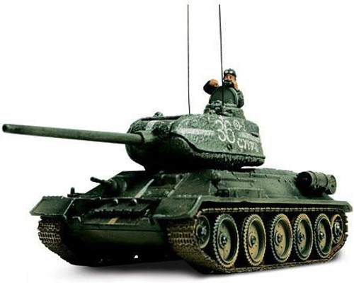 Forces of Valor 1:72 Enthusiast Series Vehicles Russian T-34/85 [Eastern Front]