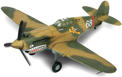 Forces of Valor 1:72 Enthusiast Series Planes U.S. P-40B [Pearl Harbor]