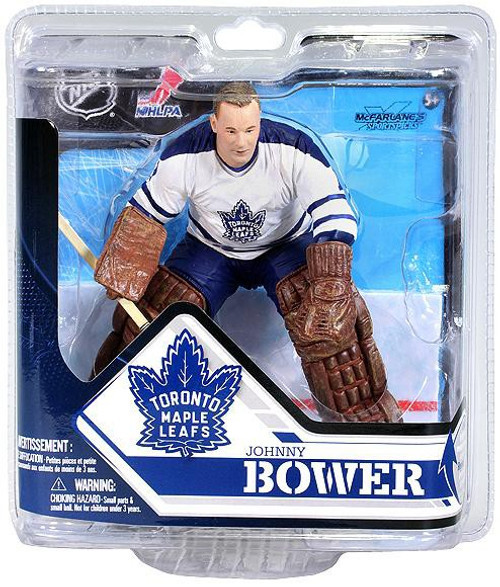 McFarlane Toys NHL Toronto Maple Leafs Sports Picks Series 32 Johnny Bower Action Figure