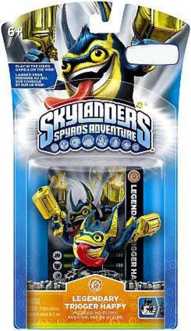 Skylanders Spyro's Adventure Legendary Trigger Happy Exclusive Figure Pack