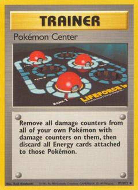 Base Set Uncommon Pokemon Center #85
