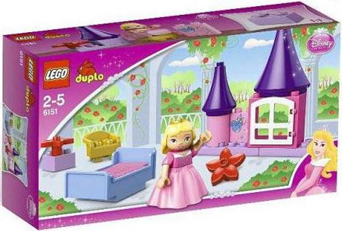 LEGO Duplo Disney Princess Sleeping Beauty's Room Set #6151