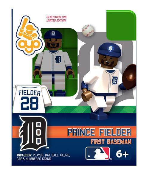 Detroit Tigers MLB Generation 1 Prince Fielder Minifigure