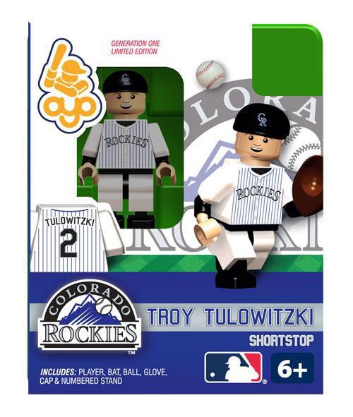 Colorado Rockies MLB Generation 1 Troy Tulowitzki Minifigure