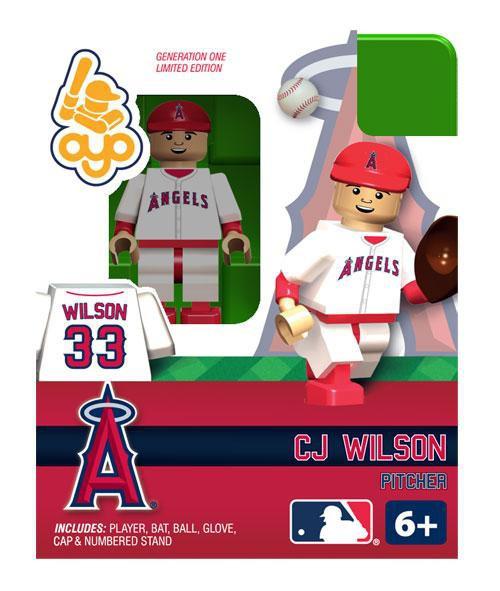 Los Angeles Angels MLB Generation 1 CJ Wilson Minifigure