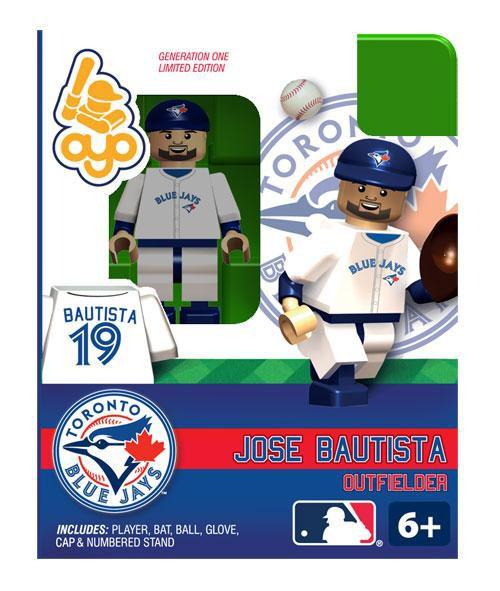 Toronto Blue Jays MLB Generation 1 Jose Bautista Minifigure