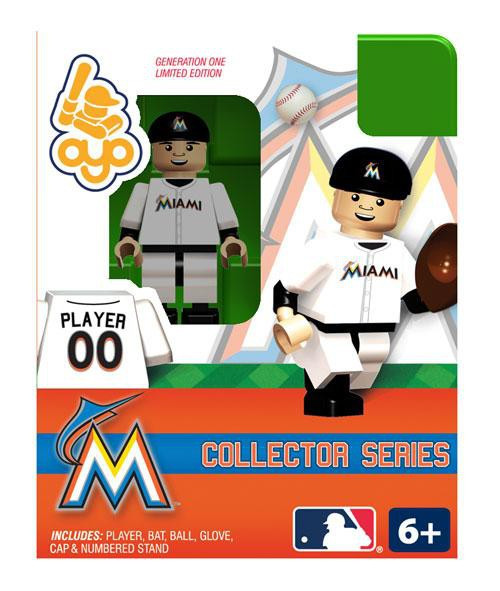 MLB Generation One Miami Marlins Minifigure