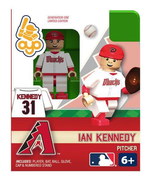 Arizona Diamondbacks MLB Generation One Ian Kennedy Minifigure