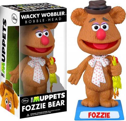 Funko The Muppets Wacky Wobbler Fozzie Bear Bobble Head