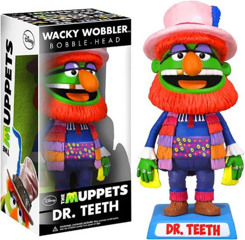 Funko The Muppets Wacky Wobbler Dr. Teeth Bobble Head