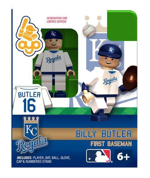 Kansas City Royals MLB Generation One Billy Butler Minifigure