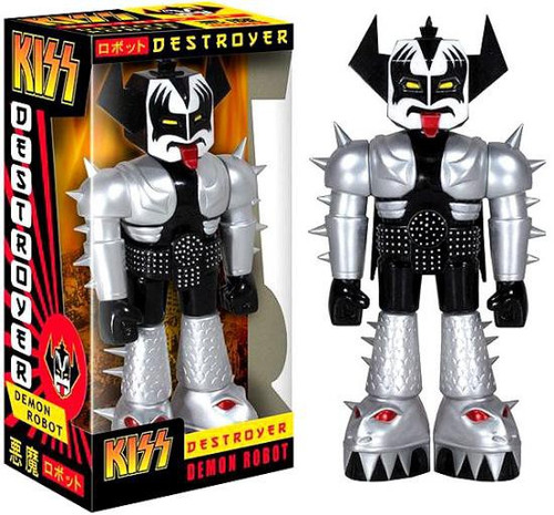 Funko KISS Destroyer Demon Robot 11-Inch Vinyl Figure