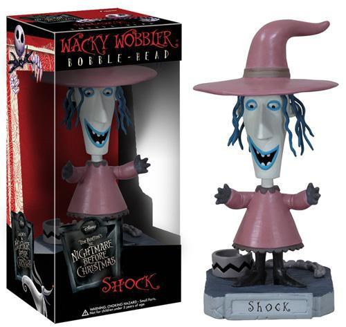 Funko Nightmare Before Christmas Wacky Wobbler Shock Bobble Head