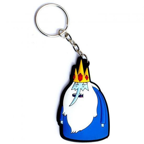 Adventure Time Ice King Rubber Keychain