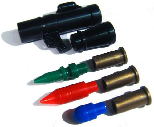 BrickArms MAAWS With RGB Shells 2.5-Inch [Black]