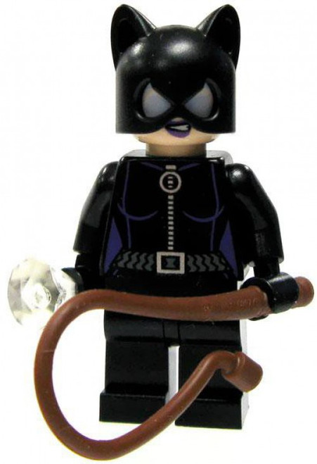 LEGO DC Universe Super Heroes Catwoman with Diamond & Black or Brown Whip Minifigure #1 [With Diamond & Whip Loose]