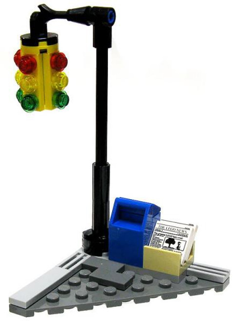 LEGO DC Universe Super Heroes Terrain Sets Street Corner #3 [Loose]