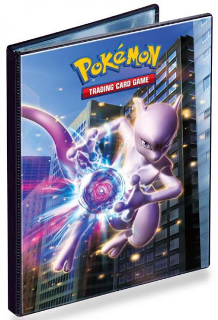 Ultra Pro Pokemon Trading Card Game BLACK & WHITE Next Destinies Mewtwo Portfolio [4-pocket ]