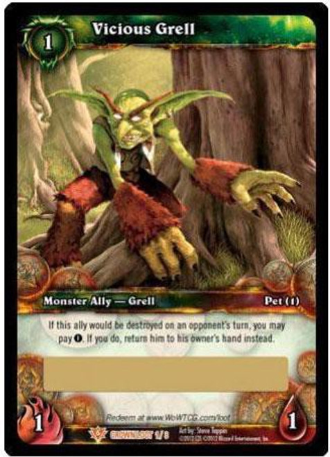 World of Warcraft Trading Card Game Crown of the Heavens Legendary Loot Vicious Grell #1