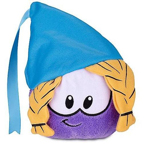 Club Penguin Series 12 Purple Puffle 4-Inch Plush [Princess with Hat]