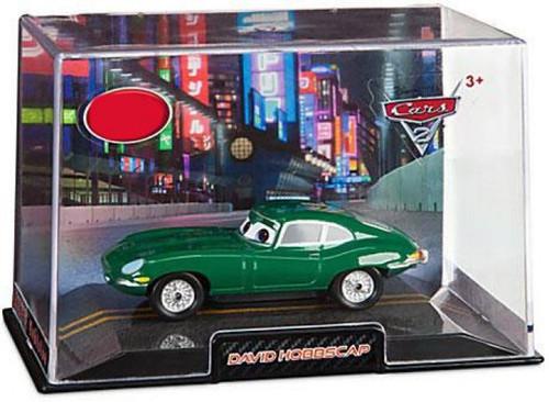 Disney / Pixar Cars Cars 2 1:43 Collectors Case David Hobbscap Exclusive Diecast Car