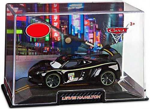 Disney / Pixar Cars Cars 2 1:43 Collectors Case Lewis Hamilton Exclusive Diecast Car