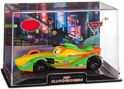 Disney / Pixar Cars Cars 2 1:43 Collectors Case Rip Clutchgoneski Exclusive Diecast Car