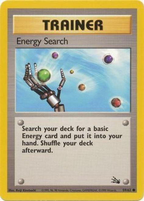 Pokemon Fossil Common Energy Search #59