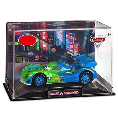 Disney / Pixar Cars Cars 2 1:43 Collectors Case Carla Veloso Exclusive Diecast Car