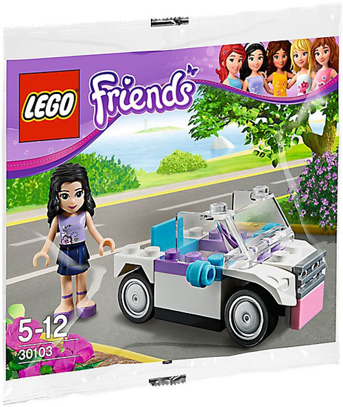 LEGO Friends Emma's Car Mini Set #30103 [Bagged]