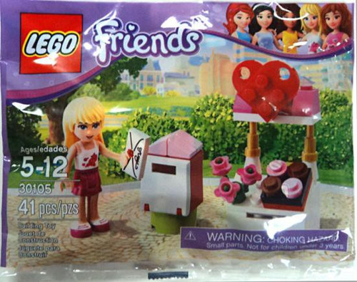 LEGO Friends Stephanie's Mailbox Exclusive Mini Set #30105 [Bagged]