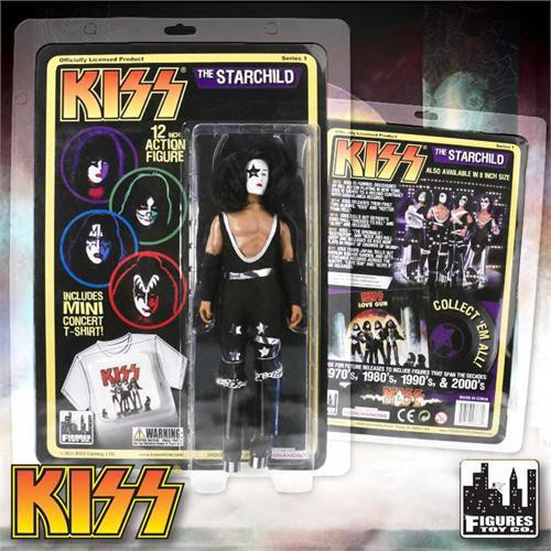 KISS Deluxe Series 1 The Starchild 12 Inch Action Figure [Paul Stanley]