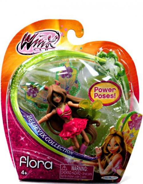 Winx Club Believix Flora 3.75-Inch Figure