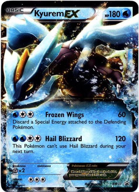 Pokemon Black & White Promo Ultra Rare Kyurem EX BW37