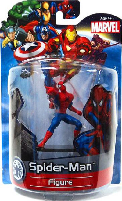 Marvel 4 Inch Deluxe Figures Spider-Man PVC Figure