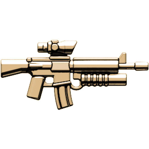 BrickArms M16-AGL ACOG Scope & Grenade Launcher 2.5-Inch [Tan]