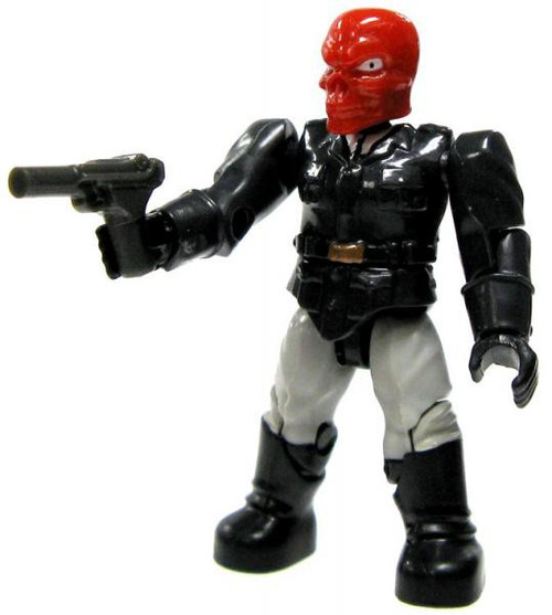 Mega Bloks Marvel Series 2 Red Skull Common Minifigure [Loose]