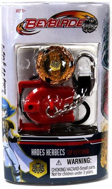 Beyblade Metal Fusion Series 7 Hades Kerbecs Keychain