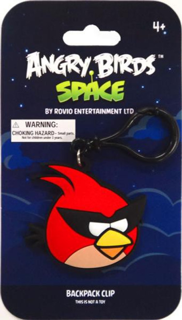 Angry Birds Space Super Red Bird PVC Backpack Clip