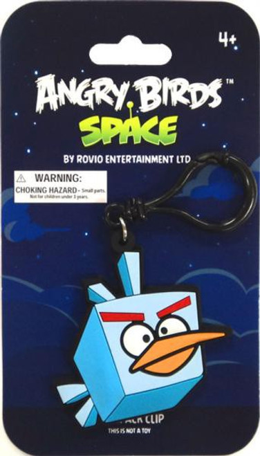 Angry Birds Space Ice Bird PVC Backpack Clip