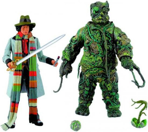 Doctor Who The Seeds of Doom Collectors Set Action Figure 2-Pack