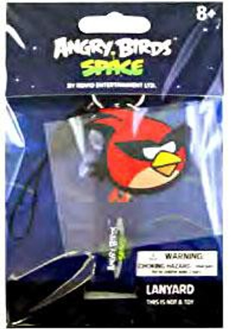 Angry Birds Space Super Red Bird Lanyard Keychain