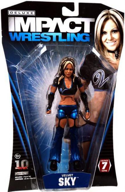 TNA Wrestling Deluxe Impact Series 7 Velvet Sky Action Figure