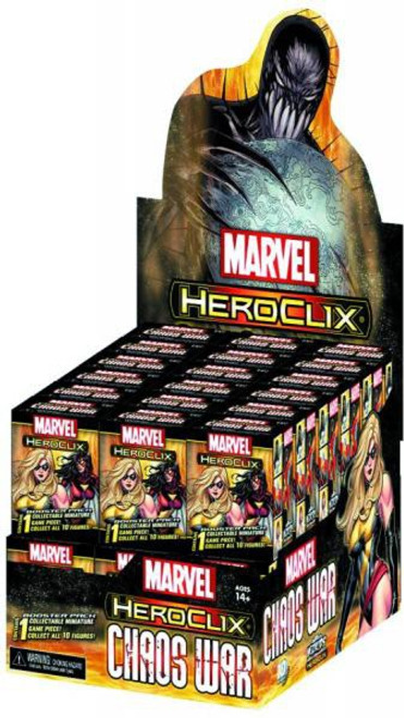 Marvel HeroClix Chaos War Gravity Feed Box [24 Packs]
