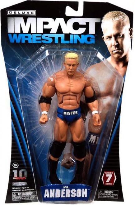 TNA Wrestling Deluxe Impact Series 7 Mr. Anderson Action Figure