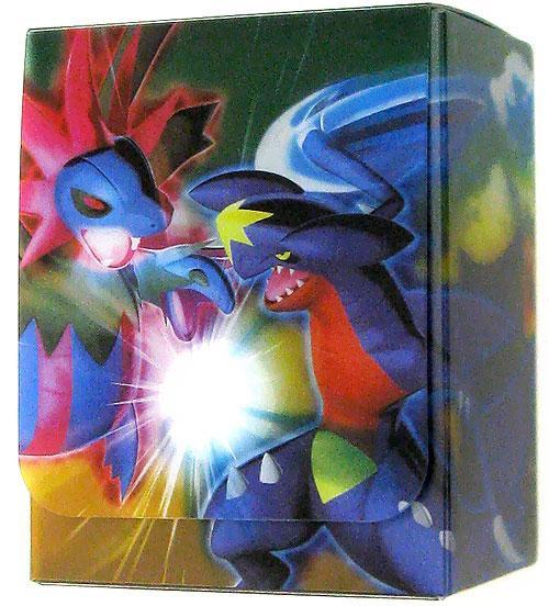Pokemon Trading Card Game Black & White Hydreigon & Garchomp Standard Deck Box