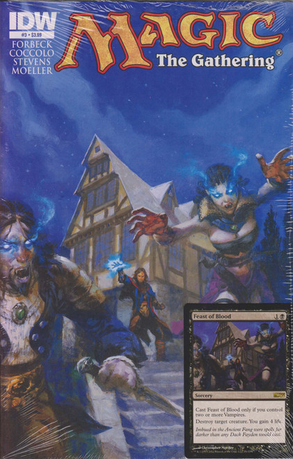 Magic The Gathering #3 Comic Book [Sealed with Feast of Blood Promo Card]