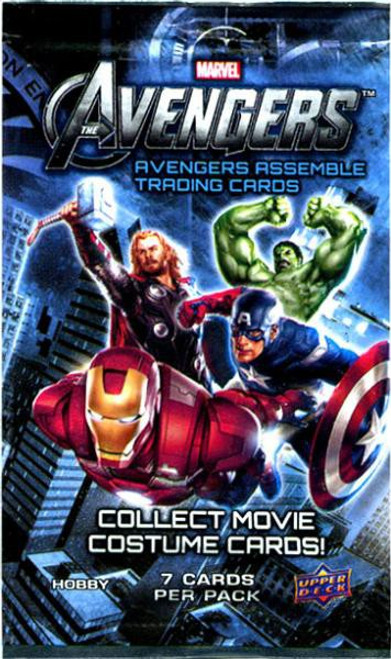 Marvel Avengers Assemble Trading Card Pack