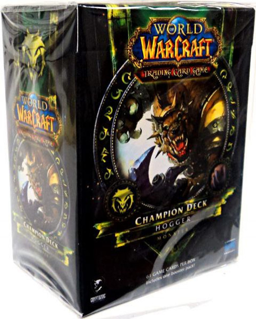 World of Warcraft Trading Card Game Hogger Champion Deck